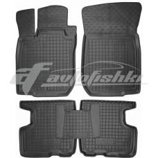Резиновые коврики в салон для Lada (ВАЗ) Lagrus 2012-... Avto-Gumm