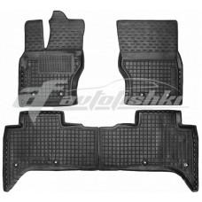 Резиновые коврики в салон для Land Rover Range Rover Sport II 2013-... Avto-Gumm
