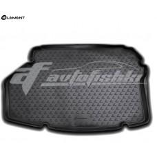 Резиновый коврик в багажник на Lexus ES 300h 2012-2019 Novline (Element)