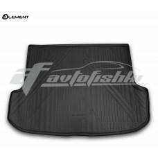 Резиновый коврик в багажник на Lexus RX III 350 / 450h (докатка) 2009-2015 Novline (Element)