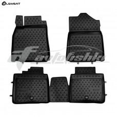 Резиновые коврики в салон на Lexus ES 250/350/300h 2012-2019 Novline (Element)