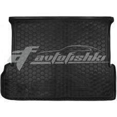 Резиновый коврик в багажник для Lexus GX 460 (7 мест) 2010-... Avto-Gumm