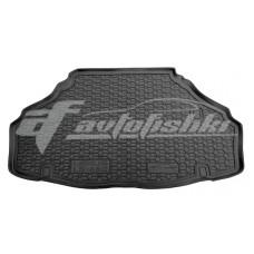 Резиновый коврик в багажник для Lexus LS 460 / 600h 2WD (короткая база) 2007-... Avto-Gumm