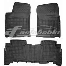 Резиновые коврики в салон для Lexus GX 460 2010-... Avto-Gumm