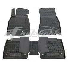 Резиновые коврики в салон для Lexus LS 460 / 600h (полный привид) (короткая база) 2007-... Avto-Gumm
