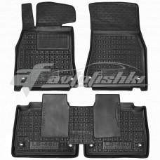 Резиновые коврики в салон для Lexus LS 460 / 600h 2WD (монопривод) (короткая база) 2007-... Avto-Gumm