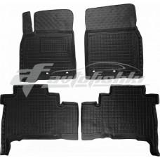 Резиновые коврики в салон для Lexus LX 570 2012-... Avto-Gumm