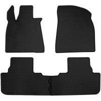 Резиновые коврики в салон Lexus RX IV 2015-... Stingray
