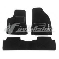 Коврики ворсовые в салон для Lexus RX 2012-2015 черные, Украина