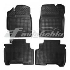 Резиновые коврики в салон для Lifan 530 2013-... Avto-Gumm