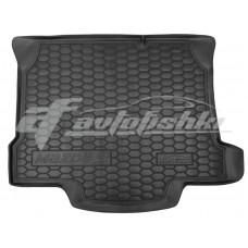 Резиновый коврик в багажник для Mazda 3 Sedan (седан) 2009-2013 Avto-Gumm