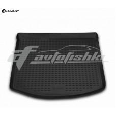 Резиновый коврик в багажник на Mazda 3 Hatchback (хэтчбек) 2003-2009 Novline (Element)