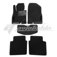 Коврики текстильные в салон для Mazda 6 2018-... черные, Польша