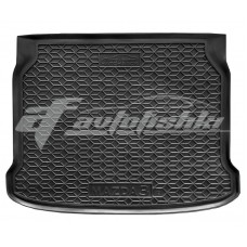 Резиновый коврик в багажник для Mazda 3 Hatchback (хэтчбек) 2019-... Avto-Gumm
