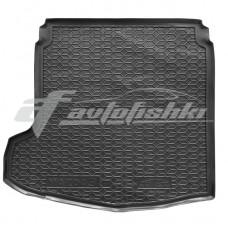 Резиновый коврик в багажник для Mazda 3 Sedan (седан) 2019-... Avto-Gumm