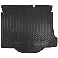 Резиновый коврик в багажник для Mazda 3 Sedan (седан) 2003-2009 Avto-Gumm