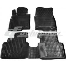 Резиновые коврики в салон для Mazda 3 III 2013-2019 Avto-Gumm