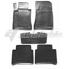 Резиновые коврики в салон для Mercedes W211 2002-2009 Avto-Gumm