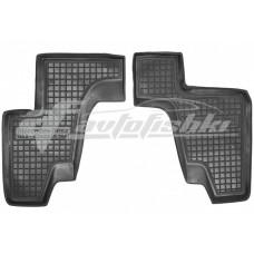 Резиновые коврики в салон для Mercedes GL-Class X166 (3 ряд) 2012-2020 Avto-Gumm