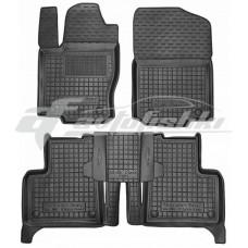Резиновые коврики в салон для Mercedes ML-Class W166 2011-2019 Avto-Gumm
