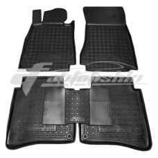 Резиновые коврики в салон для Mercedes W222 Short (короткий) 2014-... Avto-Gumm