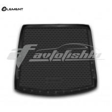 Резиновый коврик в багажник на Mitsubishi Outlander III (с органайзером) 2012-2020 Novline (Element)