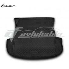 Резиновый коврик в багажник на Mitsubishi Outlander III (без органайзера) 2012-2020 Novline (Element)