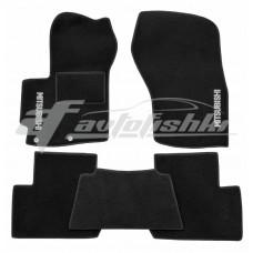 Ворсовые коврики в салон для Mitsubishi Outlander XL 2006-2012 Vena (Велюр), Украина