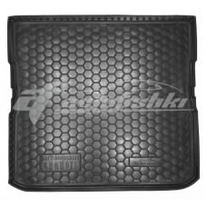 Резиновый коврик в багажник для Mitsubishi Grandis (7 мест) (длинный) 2003-2011 Avto-Gumm