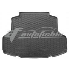 Резиновый коврик в багажник для Mitsubishi Lancer IX Sedan (седан) 2003-2010 Avto-Gumm