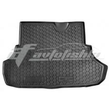 Резиновый коврик в багажник для Mitsubishi Lancer X (седан) 2007-... Avto-Gumm