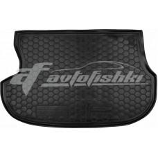 Резиновый коврик в багажник для Mitsubishi Outlander I 2003-2012 Avto-Gumm