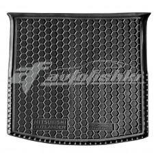 Резиновый коврик в багажник для Mitsubishi Outlander III (с органайзером) 2012-2020 Avto-Gumm