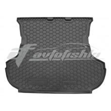 Резиновый коврик в багажник для Mitsubishi Outlander XL (без сабвуфера) 2006-2012 Avto-Gumm
