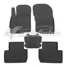 Резиновые коврики в салон для Mitsubishi Outlander III 2012-2020 Avto-Gumm