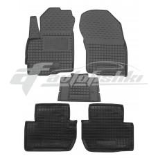 Резиновые коврики в салон для Mitsubishi Outlander XL 2006-2012 Avto-Gumm