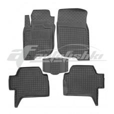 Резиновые коврики в салон для Mitsubishi Pajero Sport II 2008-2016 Avto-Gumm