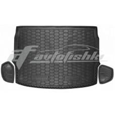 Резиновый коврик в багажник для Nissan Qashqai II (верхний) 2017-… Avto-Gumm