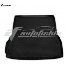 Резиновый коврик в багажник на Nissan Pathfinder IV R52 (длинный) 2014-2021 Novline (Element)