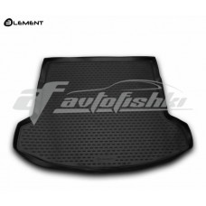 Резиновый коврик в багажник на Nissan Qashqai +2 2006-2014 Novline (Element)