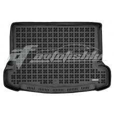 Коврик в багажник резиновый для Nissan X-Trail III T32 (7 мест) 2014-... Rezaw-Plast