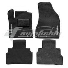 Коврики ворсовые в салон для Nissan Murano III 2014-... черные, Украина