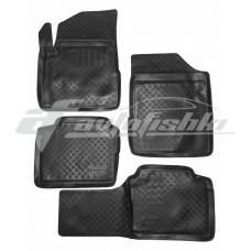 Резиновые коврики на Nissan Teana J31 2003-2008 Lada Locker