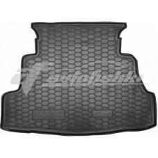 Резиновый коврик в багажник для Nissan Primera P12 Sedan (седан) 2002-2007 Avto-Gumm