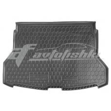 Резиновый коврик в багажник для Nissan Rogue II 2014-... Avto-Gumm