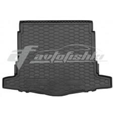 Резиновый коврик в багажник для Nissan Rogue II (нижний) 2017-... Avto-Gumm