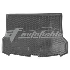 Резиновый коврик в багажник для Nissan Rogue II (верхний) 2017-... Avto-Gumm