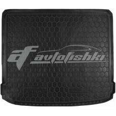 Резиновый коврик в багажник для Nissan X-Trail T31 (без органайзера) 2007-2014 Avto-Gumm