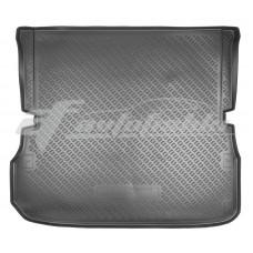 Полиуретановый коврик в багажник на Nissan Pathfinder IV R52 (7 мест) (длинный) 2014-2021 Norplast