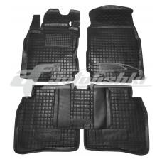 Резиновые коврики в салон для Nissan Note 2005-2013 Avto-Gumm